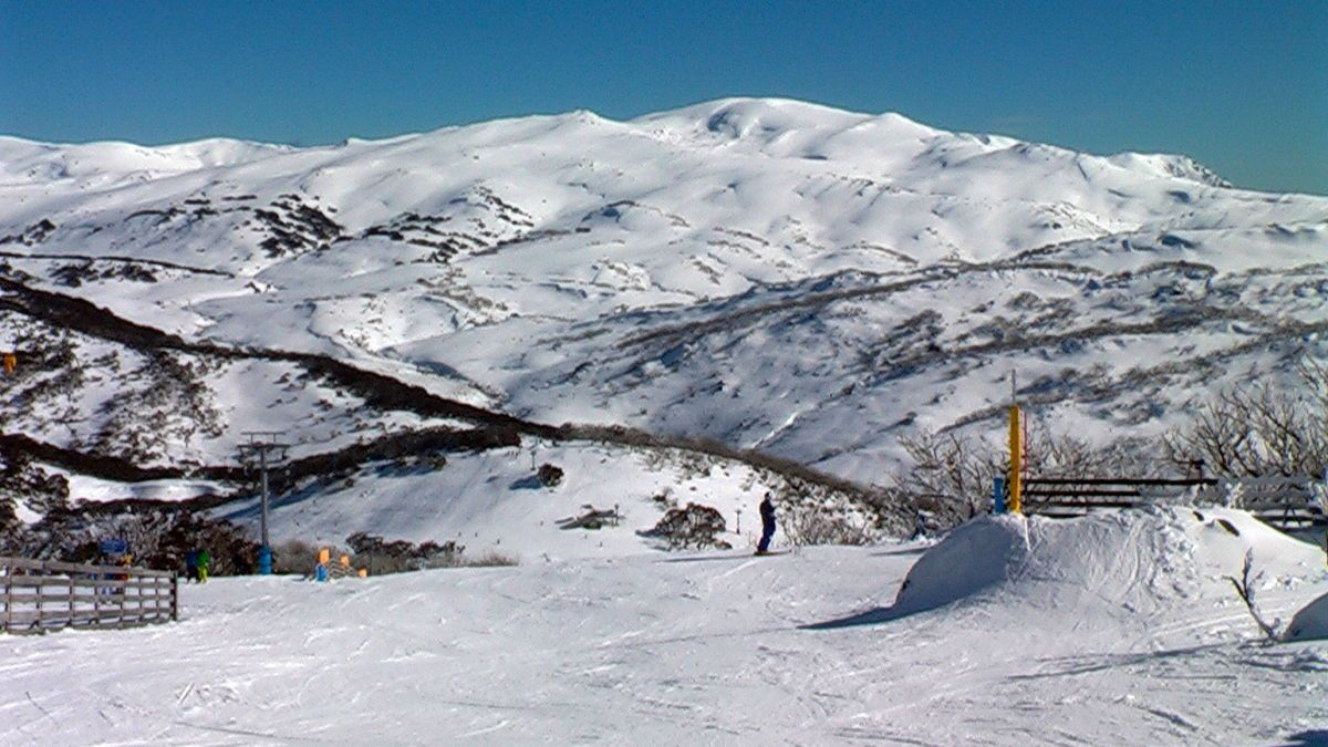 guthega ski resort - skiing in australia - wikipedia | painting