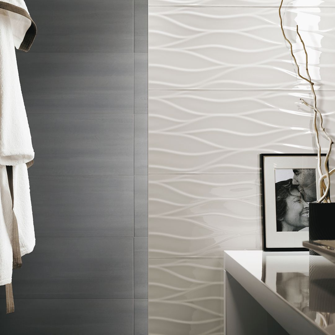 The Lumina Series High Quality Ceramic Made In Italy These Gorgeous Tiles Create A Textured And Refined In 2020 Toronto Interior Design Bathroom Design Gorgeous Tile
