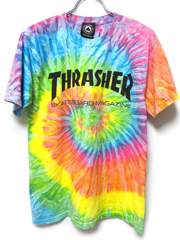 f89c23a0075edf Thrasher Tie Dye | Skate Clothes | Tie die shirts, Thrasher outfit ...