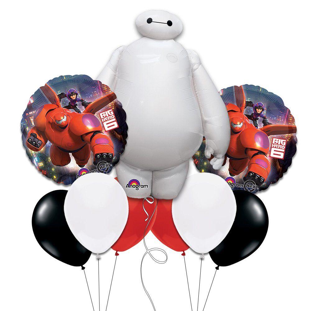 Big hero 6 mylar balloon bouquet toys games