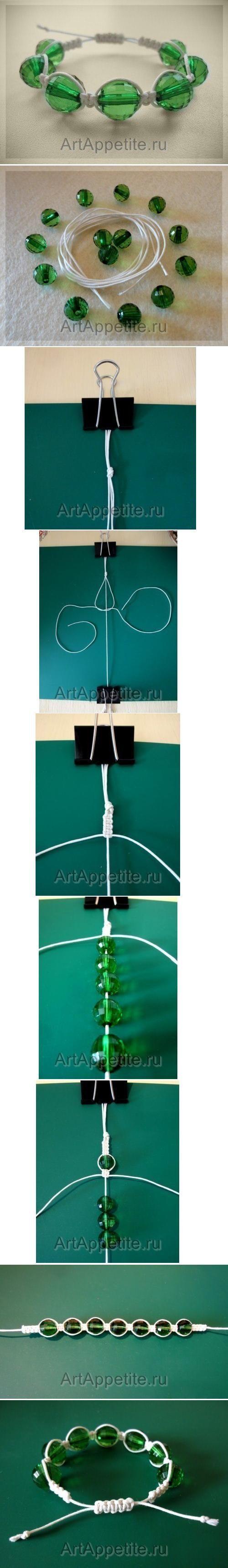 DIY Weave Bracelet Shambhala DIY Weave Bracelet Shambhala by diyforever