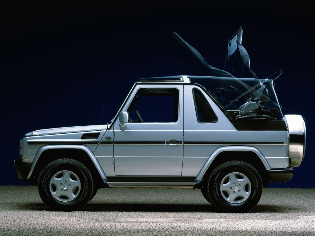 Mercedes benz 280 ge swb w460 1979 01 1990 pictures to pin - Mercedes Benz G 320 Cabrio W463 1994 98