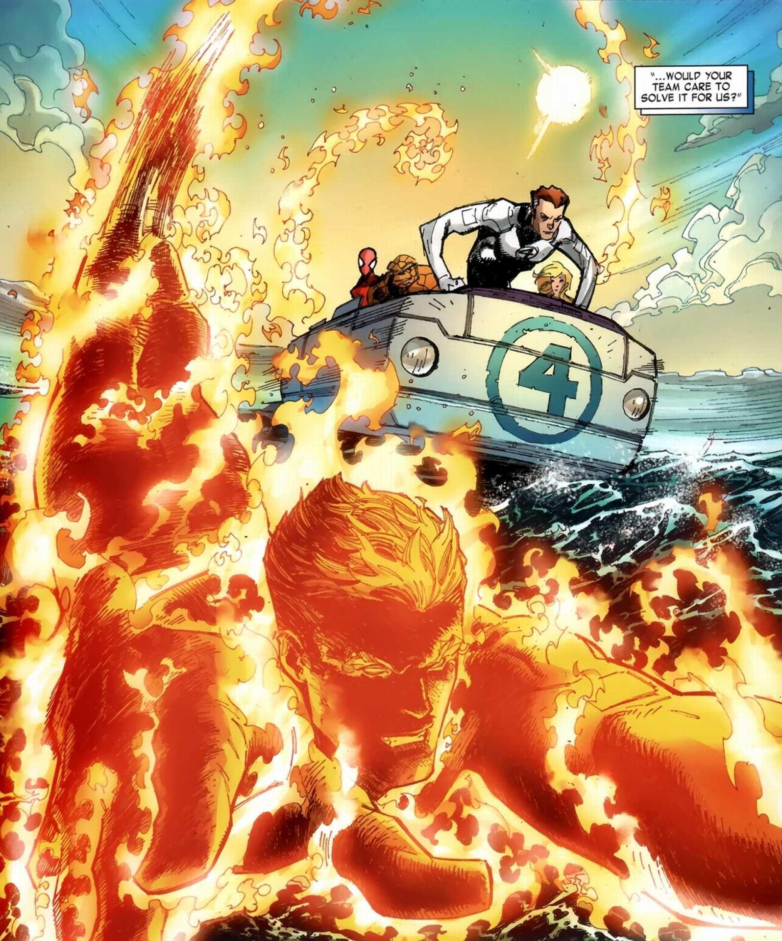 Comic Vine Fantastic Four Marvel Comic Book Artwork Marvel