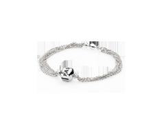 Bracelet Multi-Strand, One Clip Station