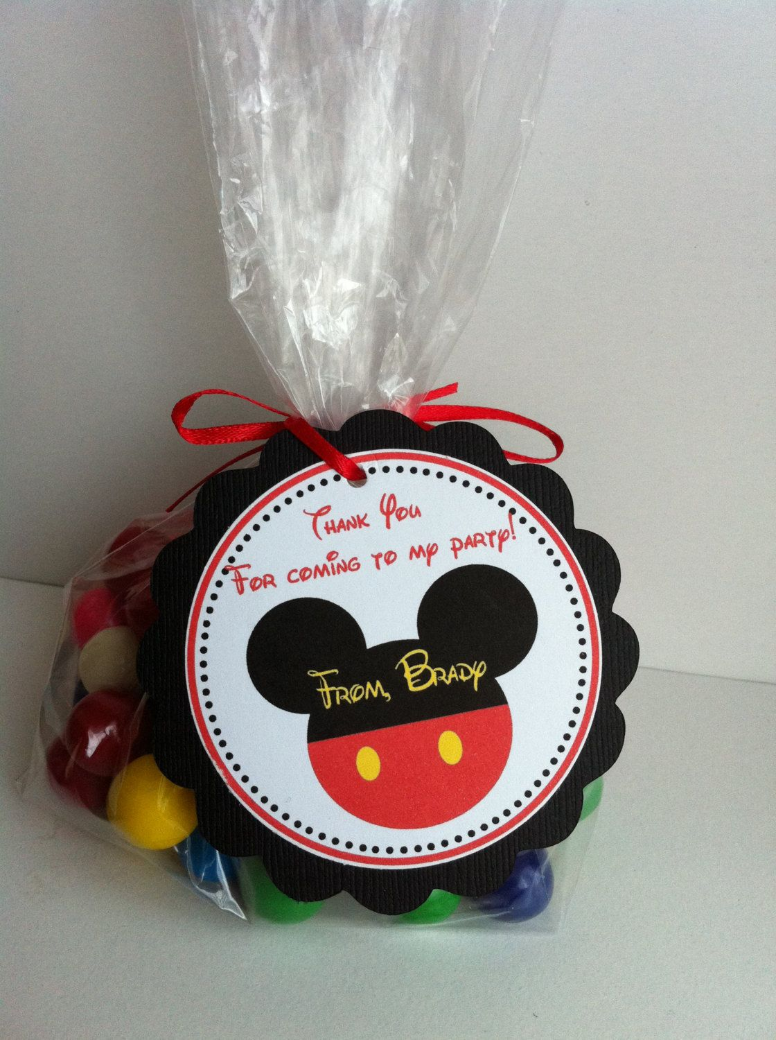 Mickey Mouse Party Favor Bags By Sweetdesignsbyregan On Etsy 1200