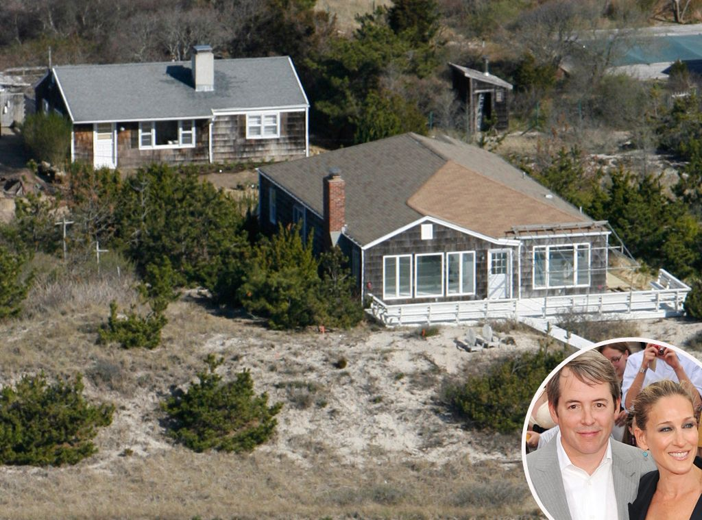 Matthew broderick sarah jessica parker from celebrity for Celebrity homes in the hamptons