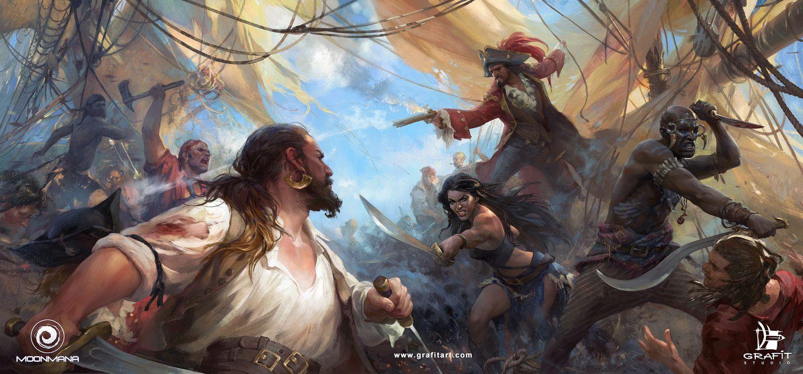 эти бои пиратов картинки начала