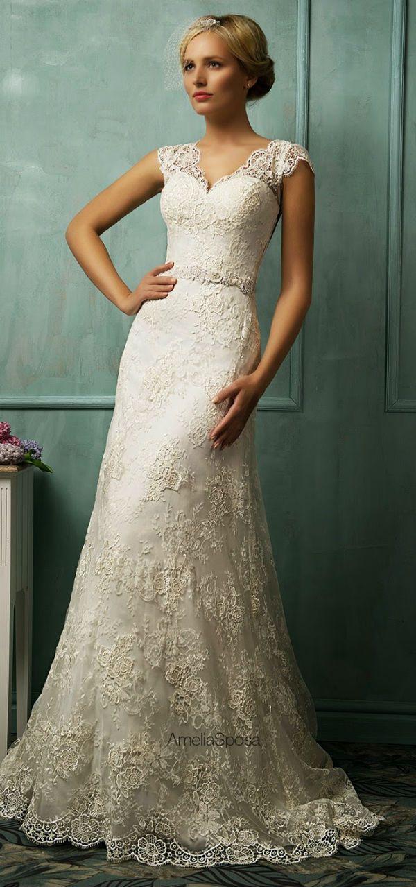 vestido de novia por amelia sposa, bridal dressamelia sposa