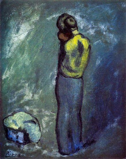 Picasso: Mère et enfant (1902)