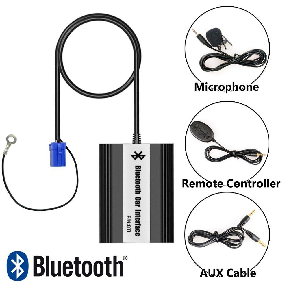 Bluetooth Hands Free Adaptor Car Integrated USB AUX Jack