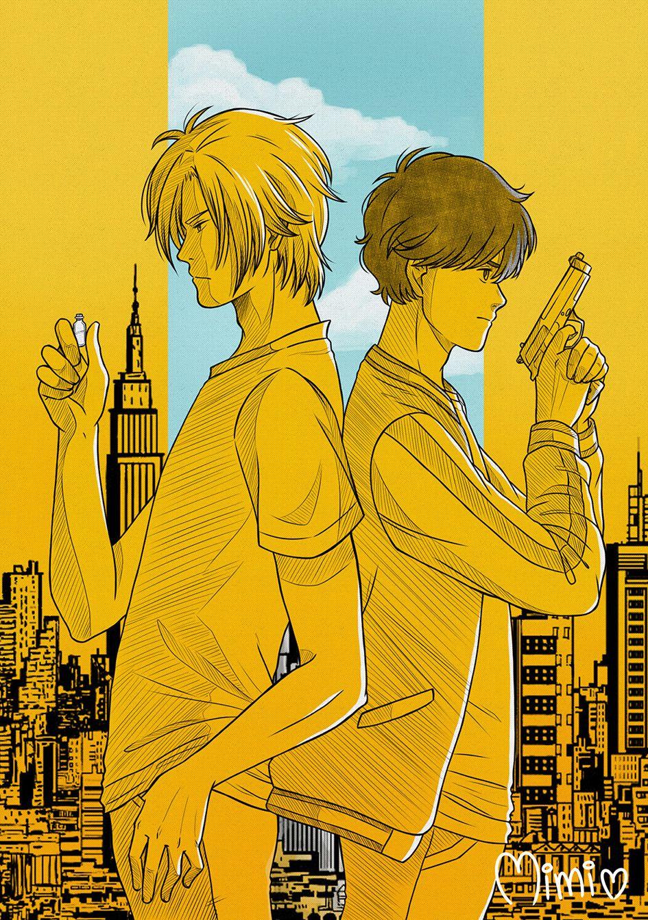 Pin By Shin On Banana Fish Manga Covers Fish Anime Wallpaper