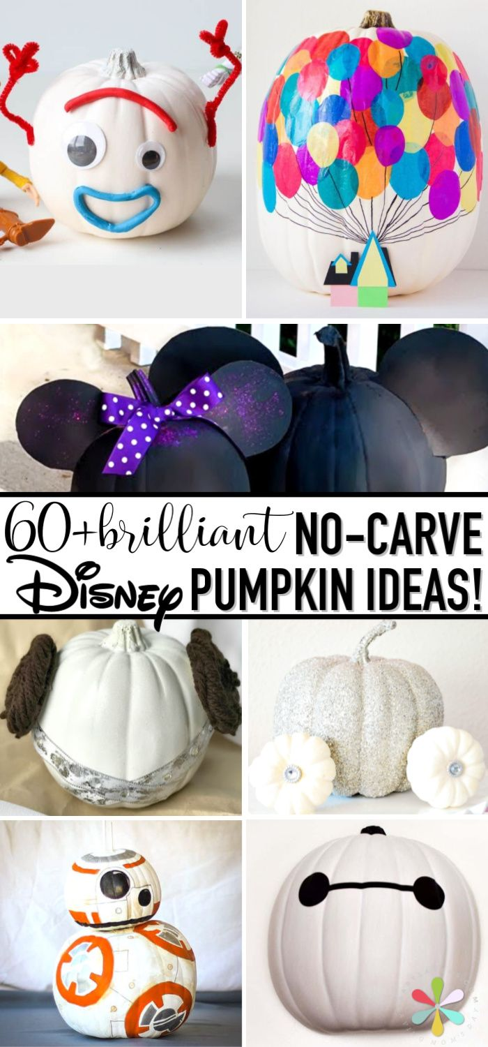 DISNEY PAINTED PUMPKIN IDEAS
