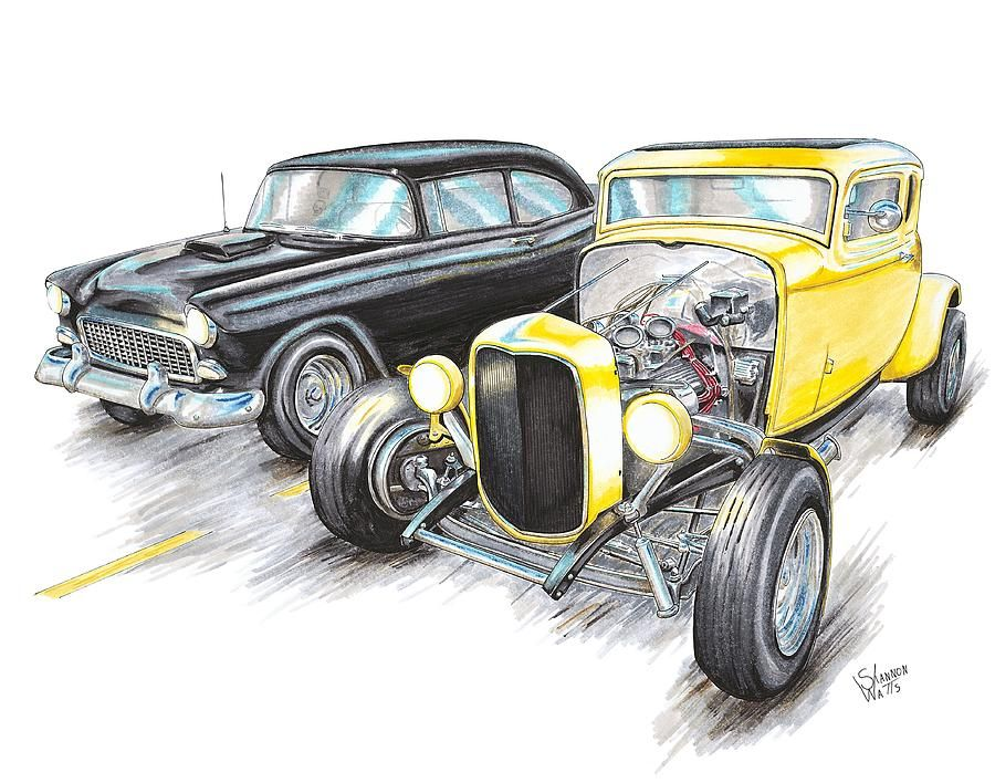 Rat Fink T Shirt 100/% Ford Big Daddy Tee 1965 Falcon 65 Gasser Sz M L XL 2XL 3XL