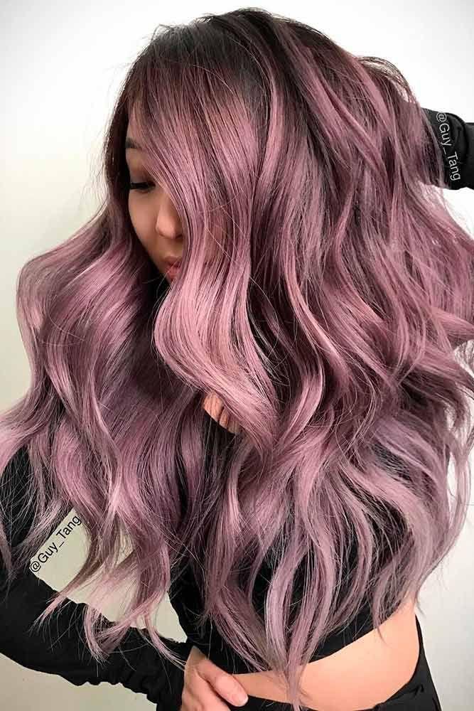 18 Hot Chocolate Lilac Hair Shades Lilac Hair Hair Trends And Lilacs