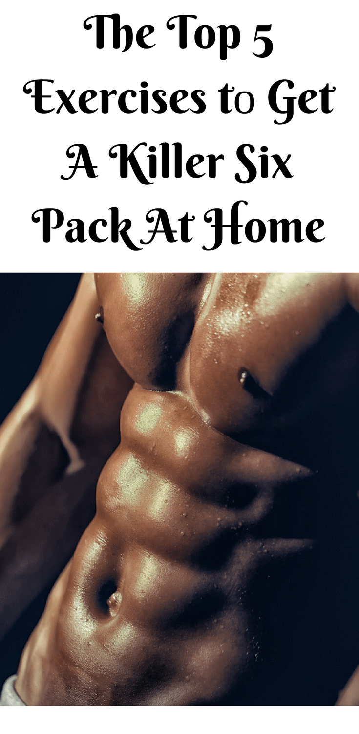 get ripped abs at home