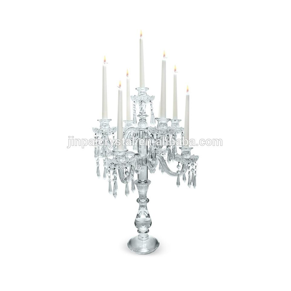 clear glass candelabra for wedding table centerpieces | alibaba ...
