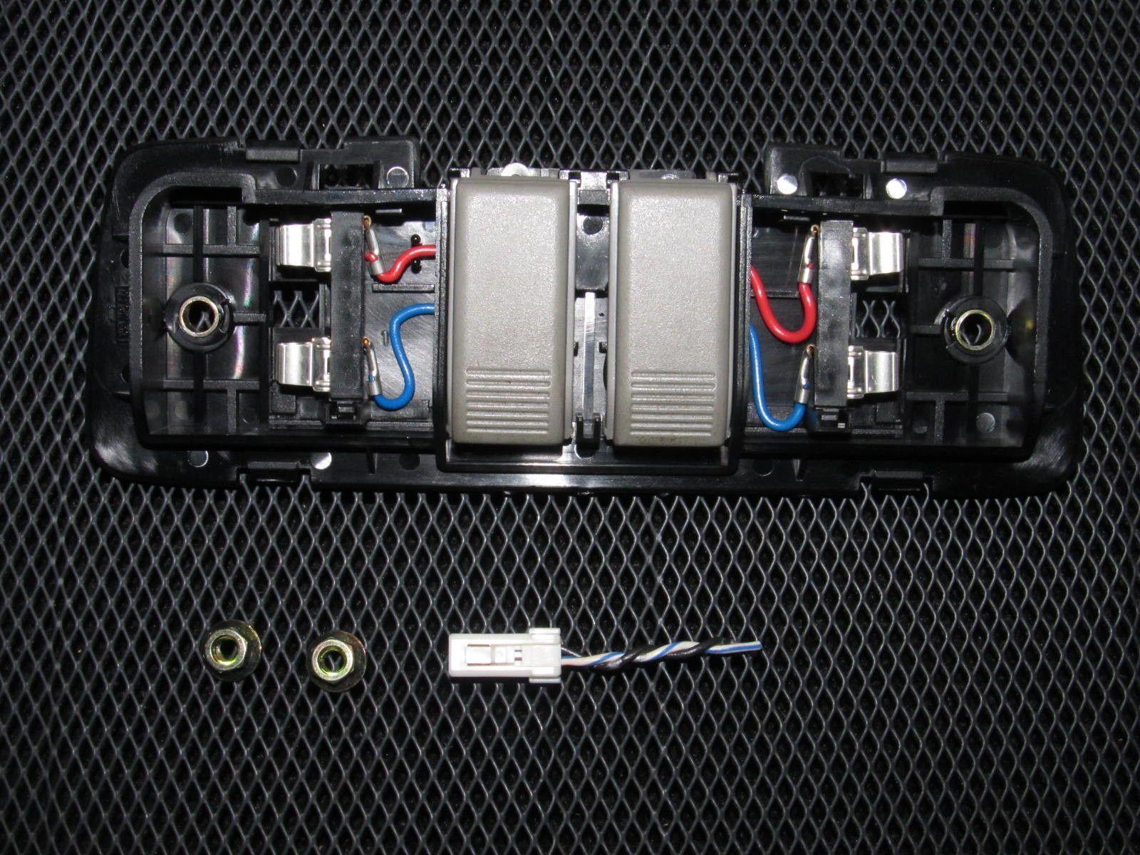 90 93 Acura Integra Oem Light Gray Courtesy Map Lamp Fuse Box