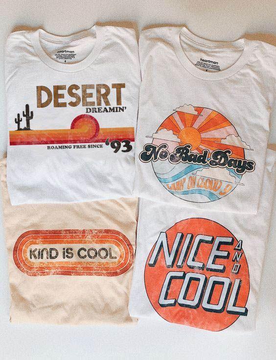 Unsere neueste Kollektion grafischer T-Shirts! Mit beunruhigten Drucken im Vintage-Stil #graphicprints Unsere neueste Kollektion grafischer T-Shirts! Mit beunruhigten Drucken im Vintage-Stil ...