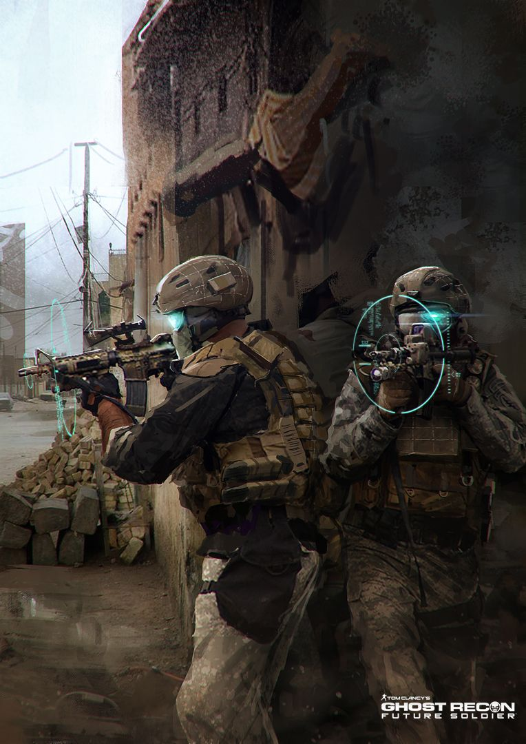 D.B.ART: Concept Art - Ghost Recon