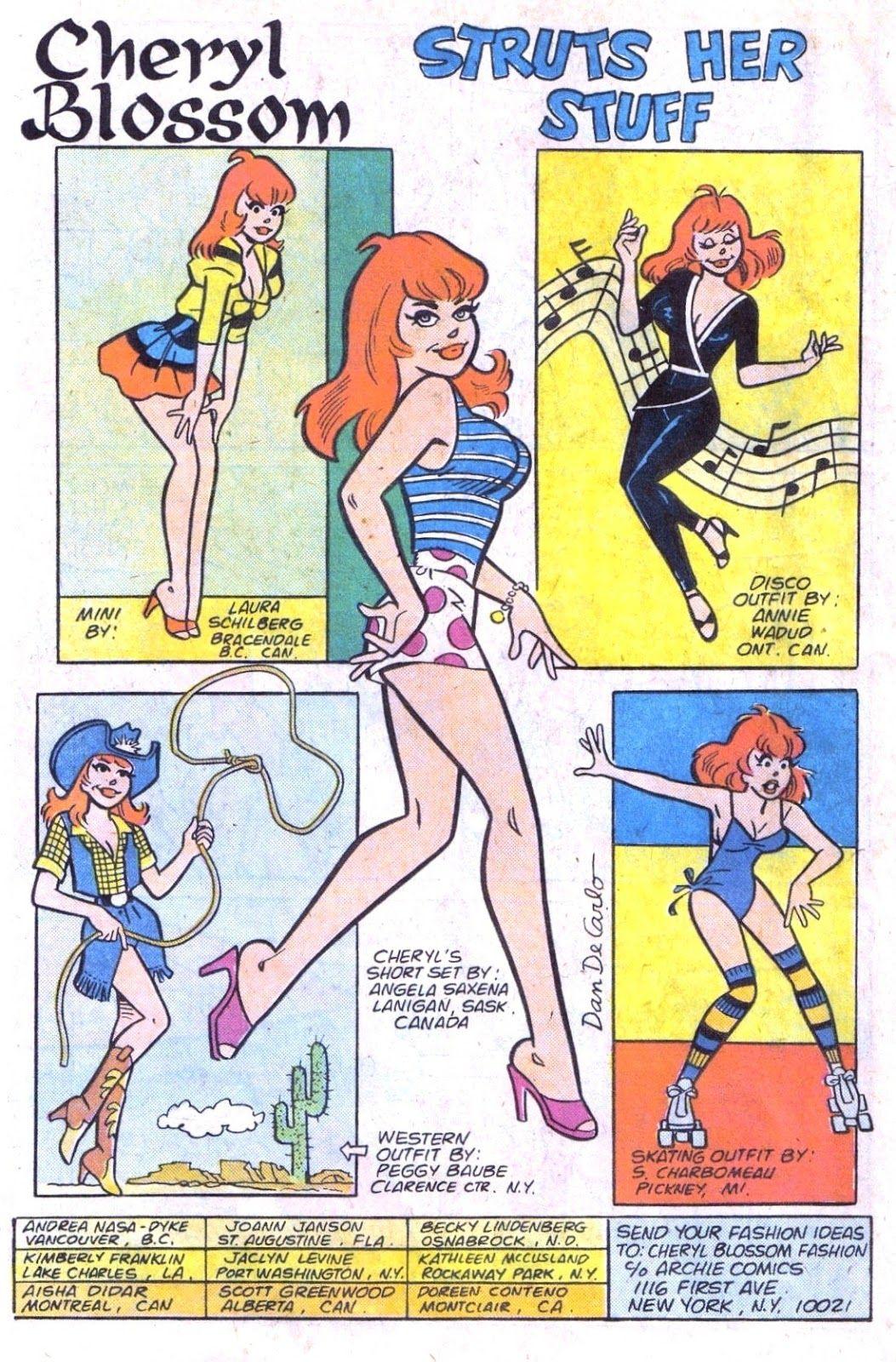 Cvheryl Blossom Cheryl Blossom Archie Comics Cheryl Blossom Comics Archie Comic Books