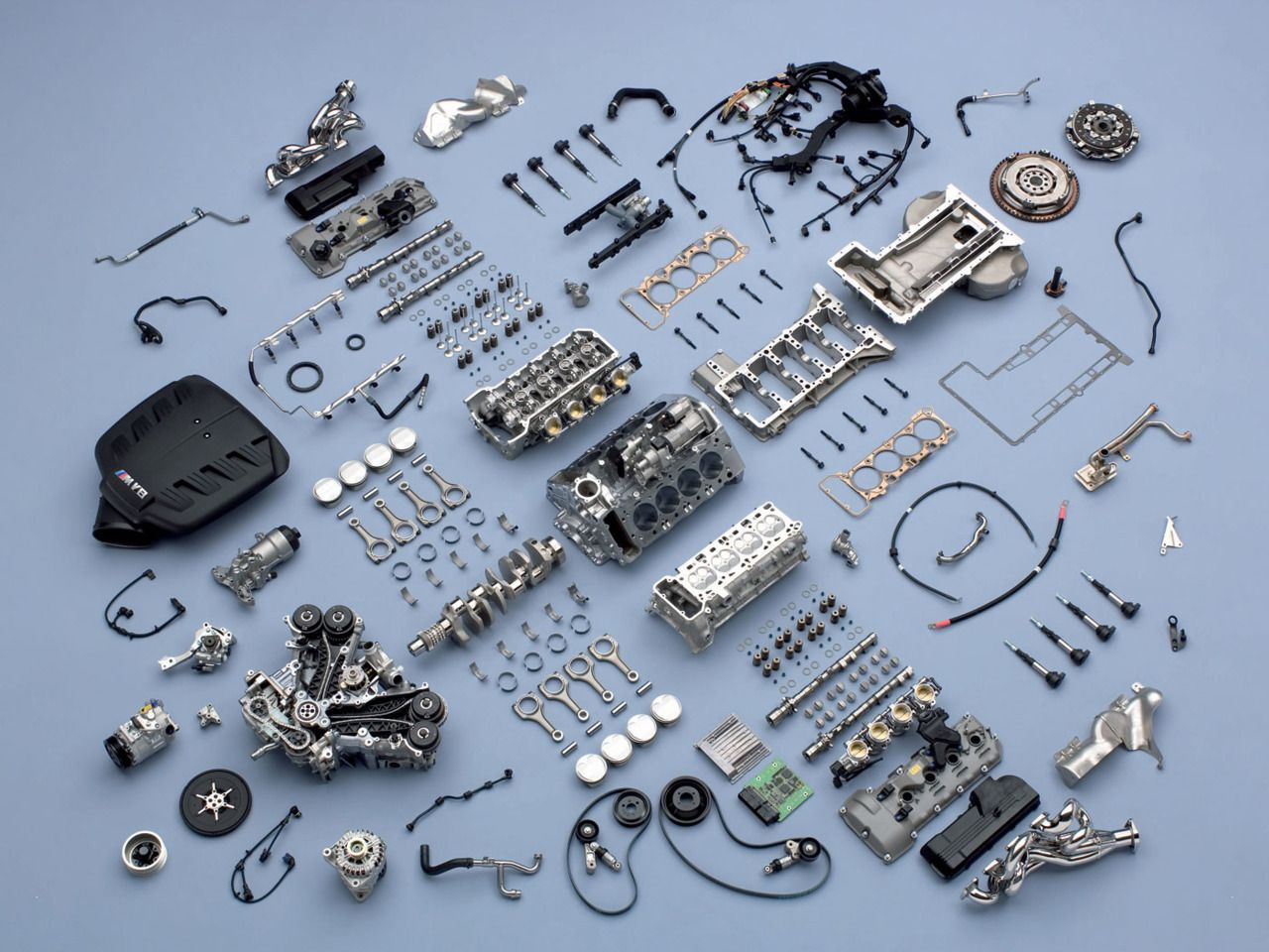 This Is How The Magic Happens Bmw M3 E92 V8 Engine Deconstructed S65 Diagram