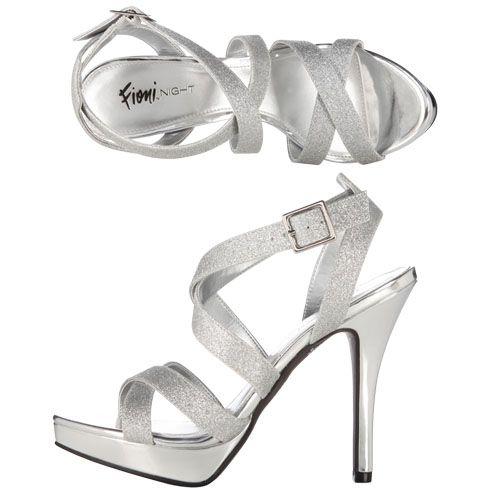 Women s WIDE WIDTH Lolita Strappy Sandal in Silver. Baile De Regreso A Casa Zapatos De BienvenidaTacones PlateadosSandalias De MujeresSandalias ... 6d226771d421