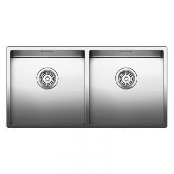 Blanco Claron 400/400-IF Küchenspüle B: 86,5 T: 440 mm, Edelstahl ...