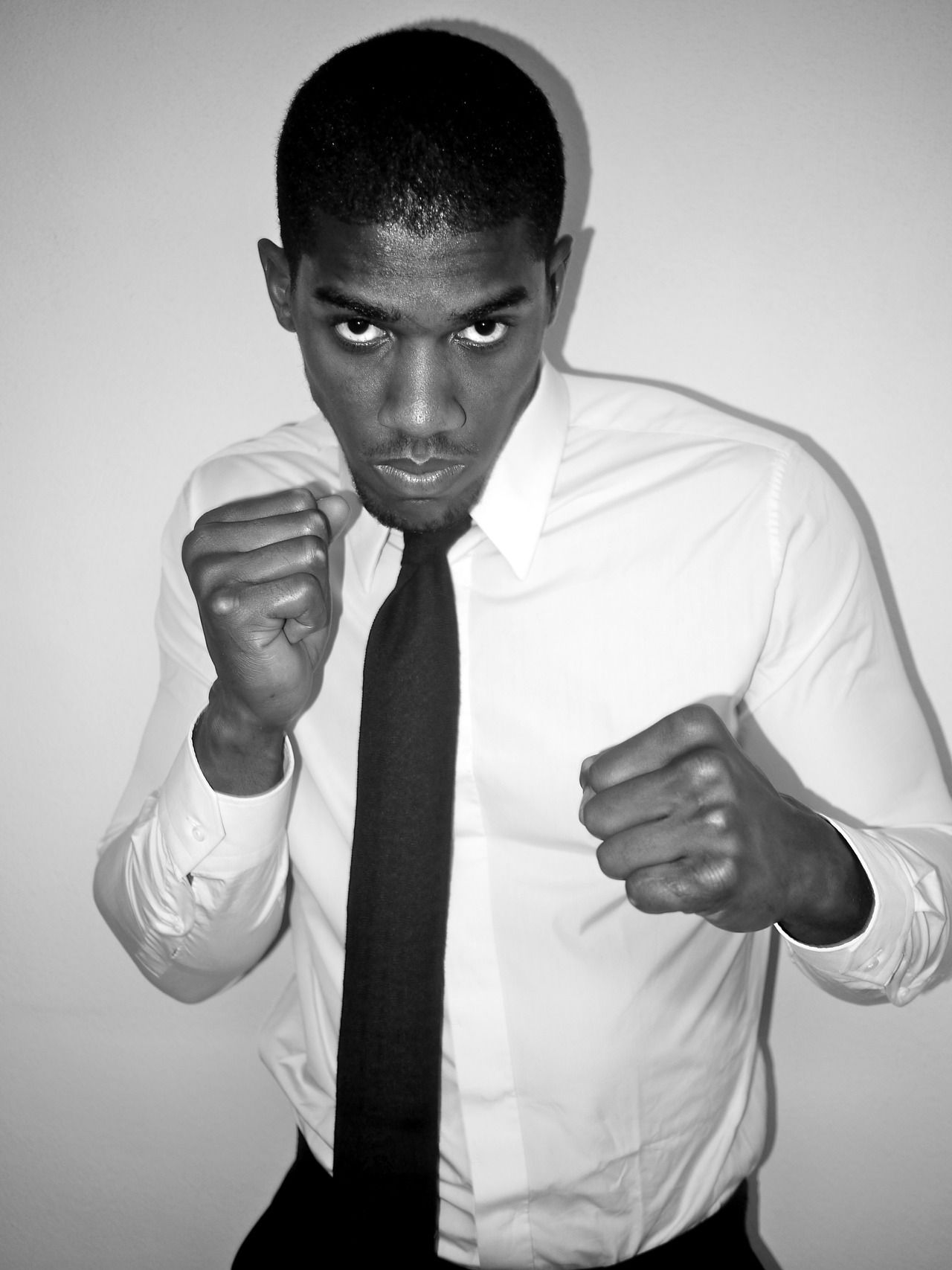 ANTHONY JOSHUA The Olympic Gold heavy weight boxing champ fitted and snapped at house a. sauvage.  Anthony Joshua wears: autumn/winter 2012...