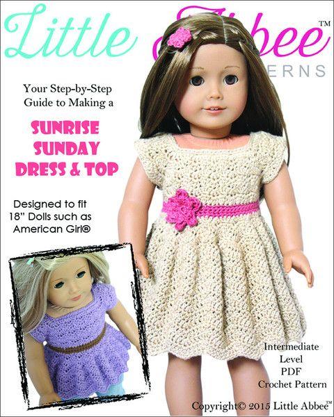 Sunrise Sunday Dress Crochet Pattern
