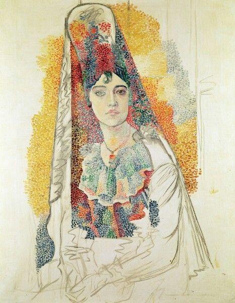 La Salchichona, Pablo Picasso 1917
