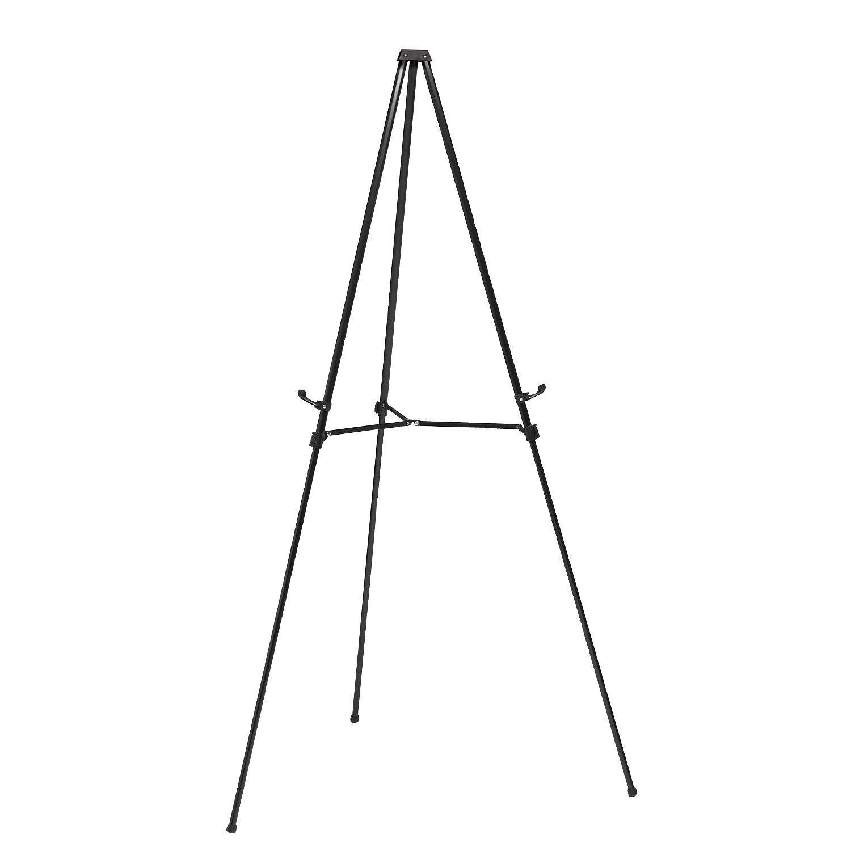 Shop Ghent Black Portable Aluminum 3 Leg Snap Presentation Telescoping Easel at the Amazon Furniture Store