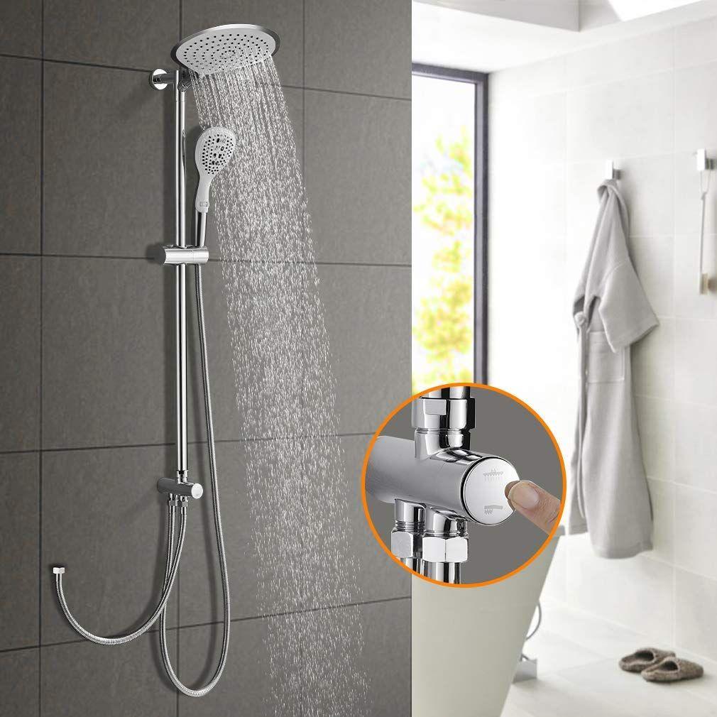 Duschsystem Regendusche In 2020 Duschsysteme Regendusche Duscharmatur