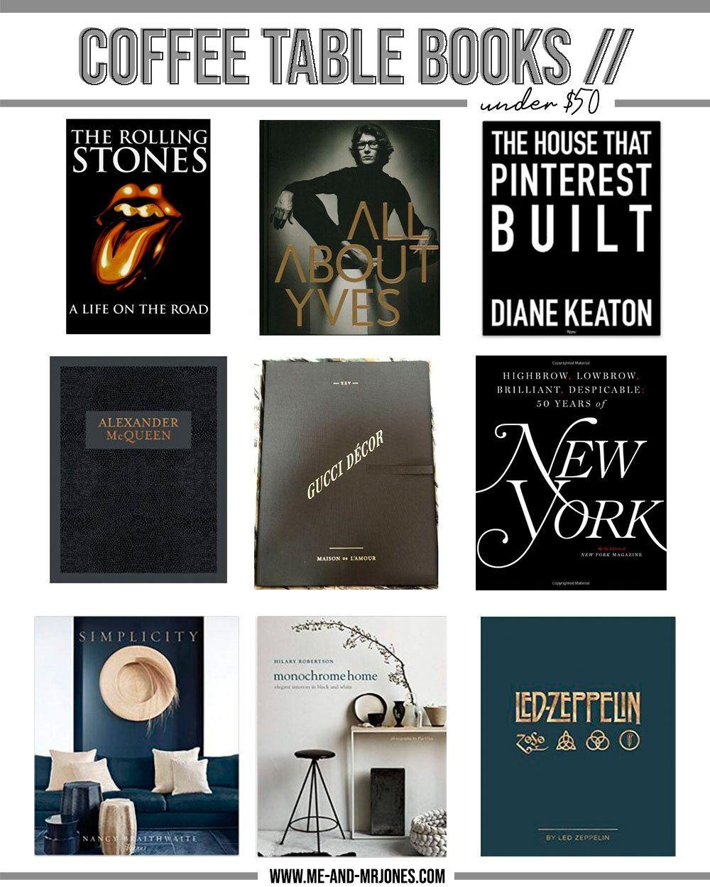 Coffee Table Books Under 50 In 2020 Coffee Table Books Coffee Table Beautiful Coffee