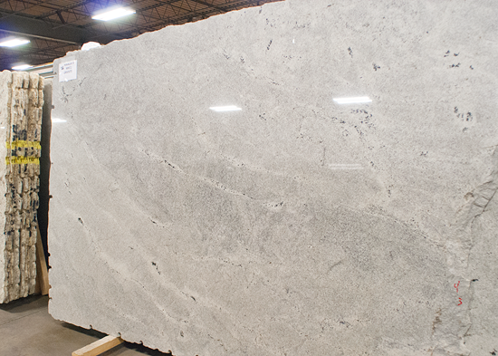 Himalaya White Granite This Was One Of The Cleanest