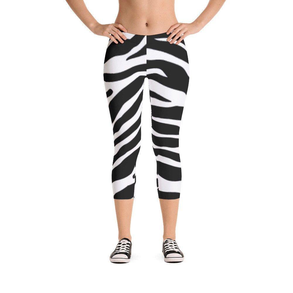 Zebra CAMO Capri Leggings