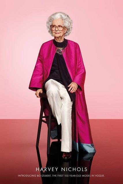 Meet Harvey Nichols's 100-Year-Old Star http://ift.tt/1N69RjJ #BritishVogue #Fashion