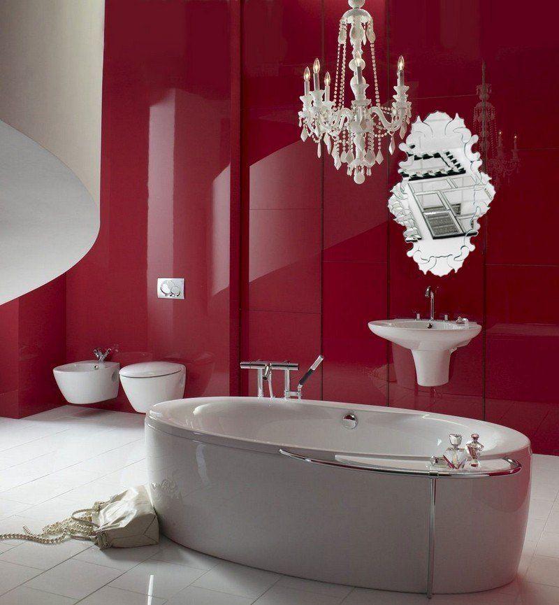 Salle de bain colorée - 55 meubles, carrelage et peinture Salons