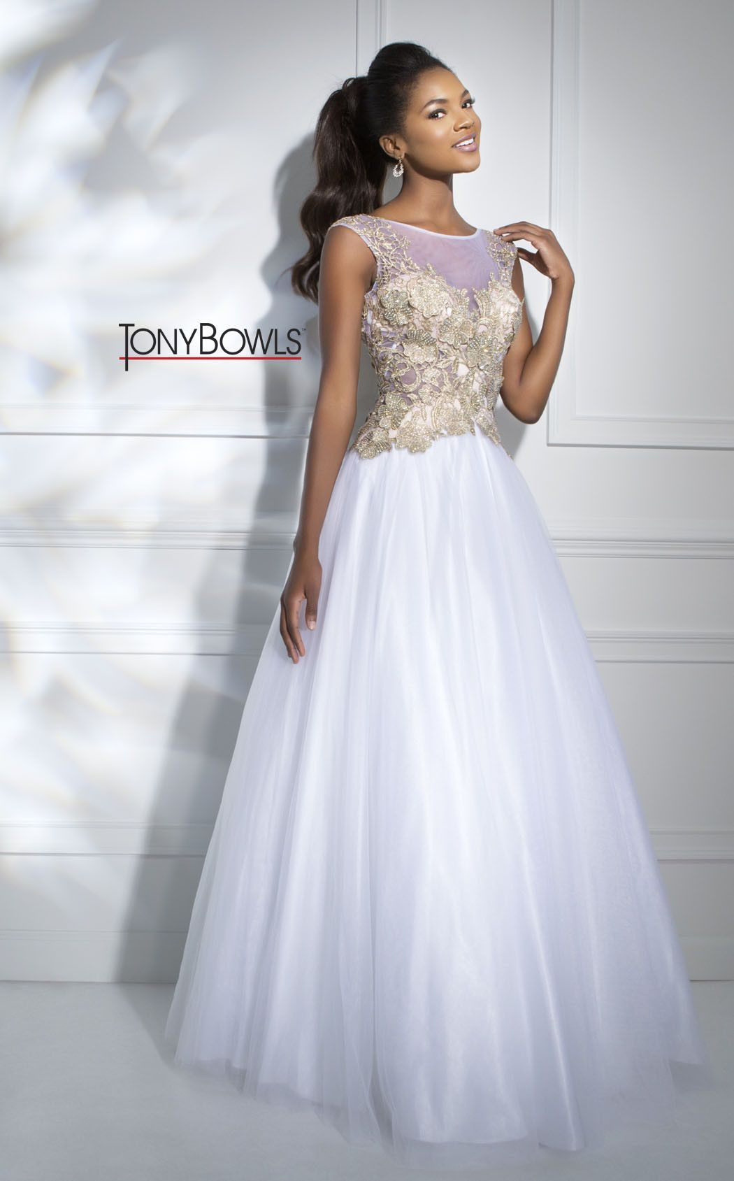 White Prom Dress | Weddings | Pinterest | Princess style, Prom and ...