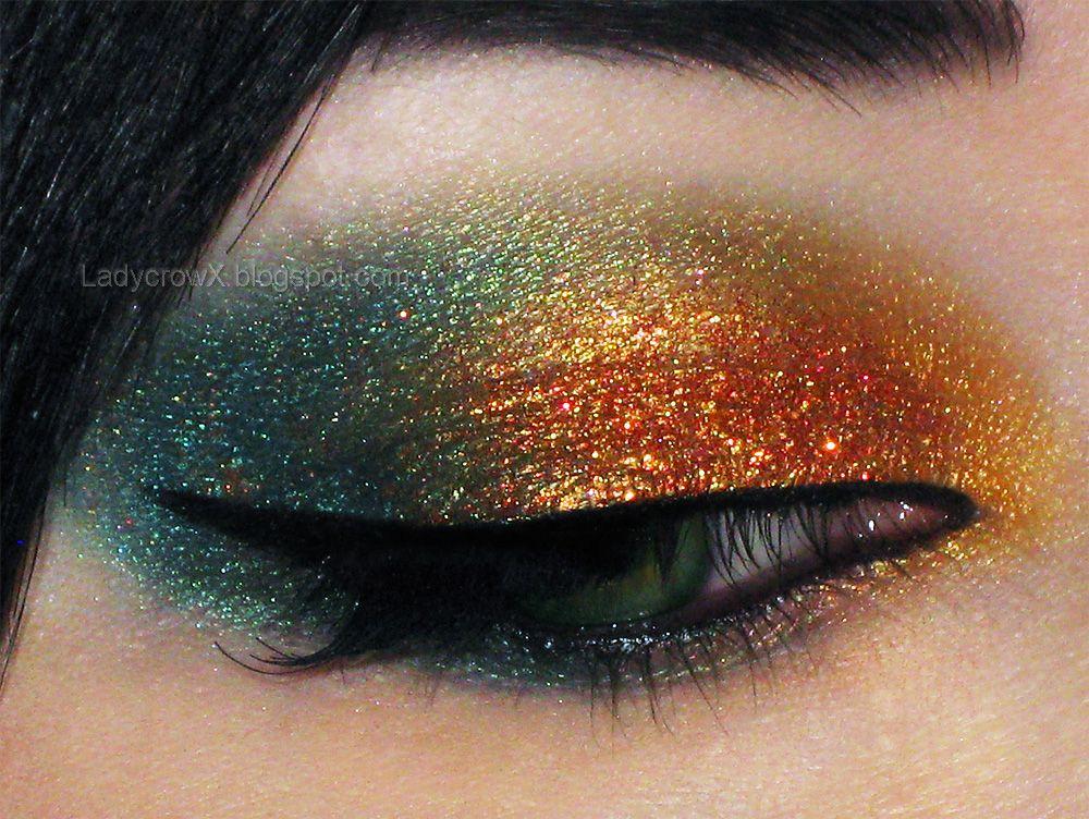 Makeup Tutorial Fiji Fire Eater using Glamour Doll Eyes