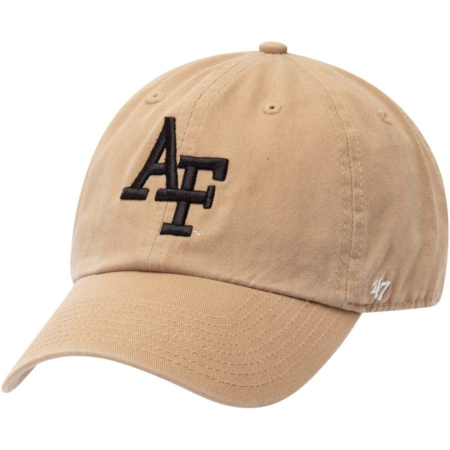0036133ce93 Air Force Falcons  47 Operation Hat Trick Desert Sand Clean Up Adjustable  Hat – Khaki
