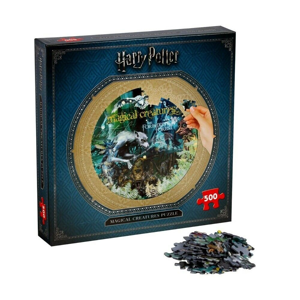 HARRY POTTER MAGICAL CREATURES (500 PIECE JIGSAW PUZZLE