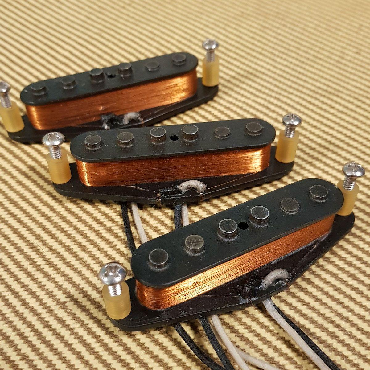 Best VINTAGE GUITAR PICKUPS for Stratocaster Telecaster P-Bass J-Bass Jazz Bass Precision Bass Tele Strat Les Paul ES-335 Flying V #vintageguitars