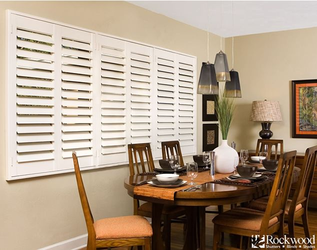 Custom Interior Shutters | Rockwood Shutters | Home Depot Shutters