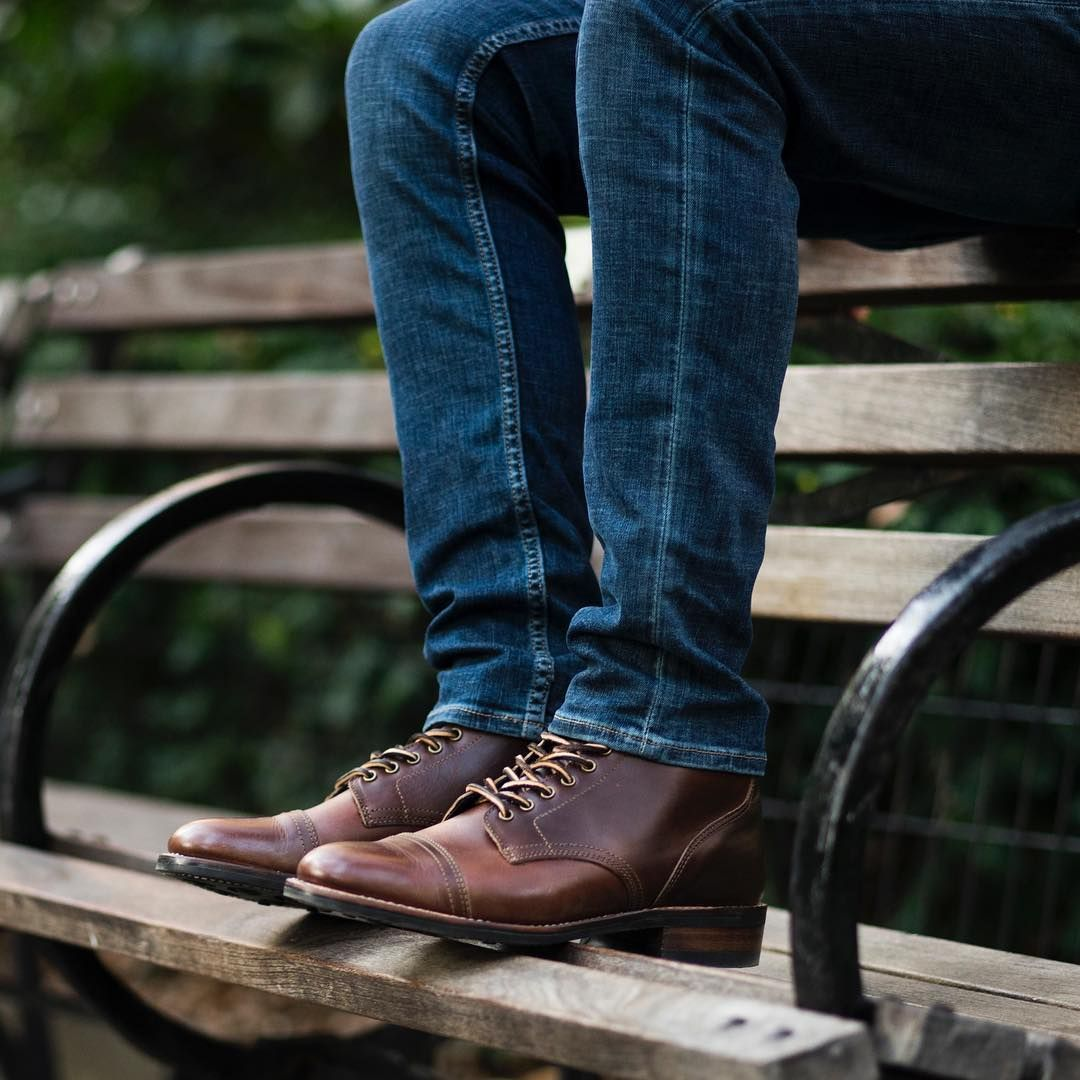Leather shoes men, Mens leather boots