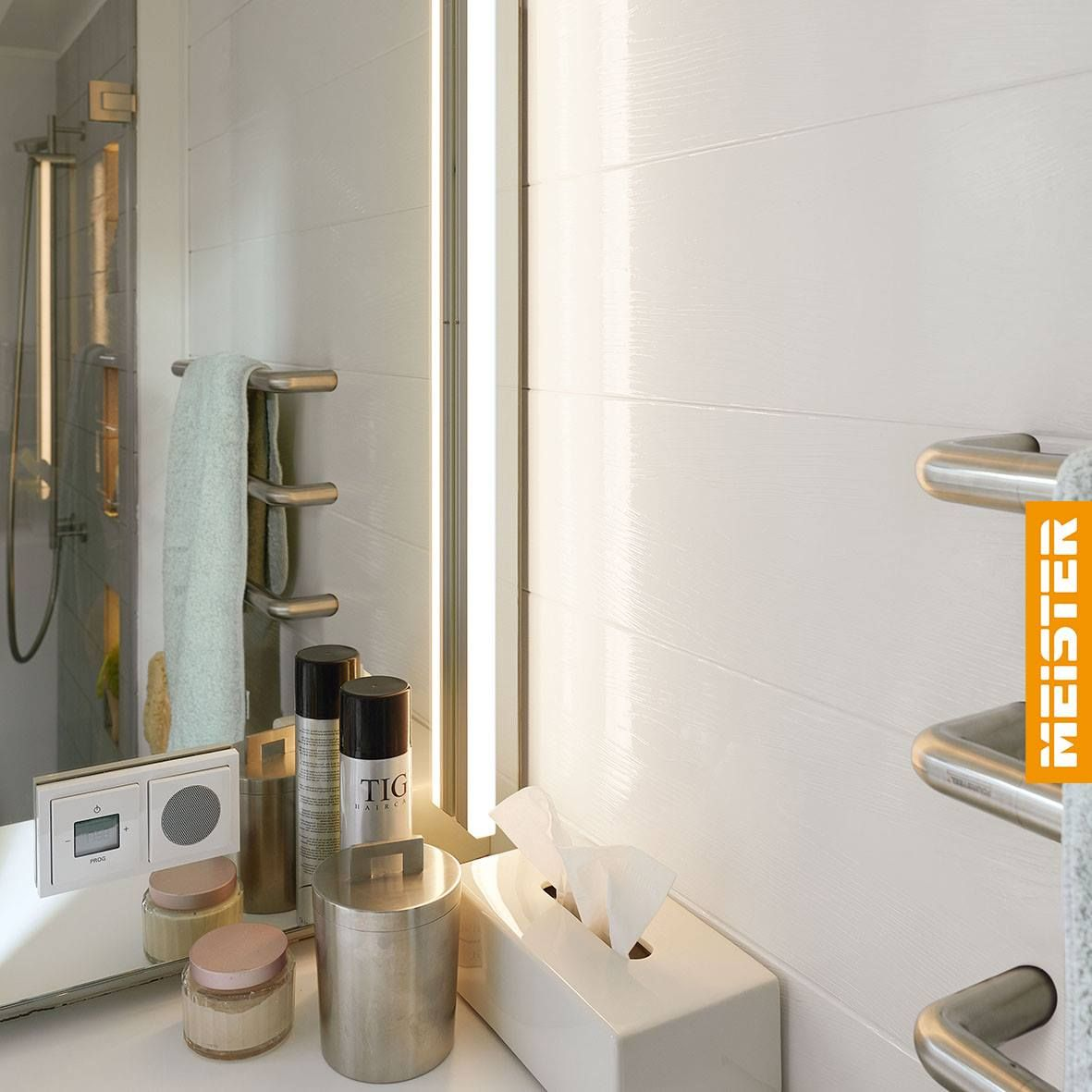 Wandpaneele Im Bad Wall Panels In The Bathroom Paneele Raumgestaltung Wandverkleidung
