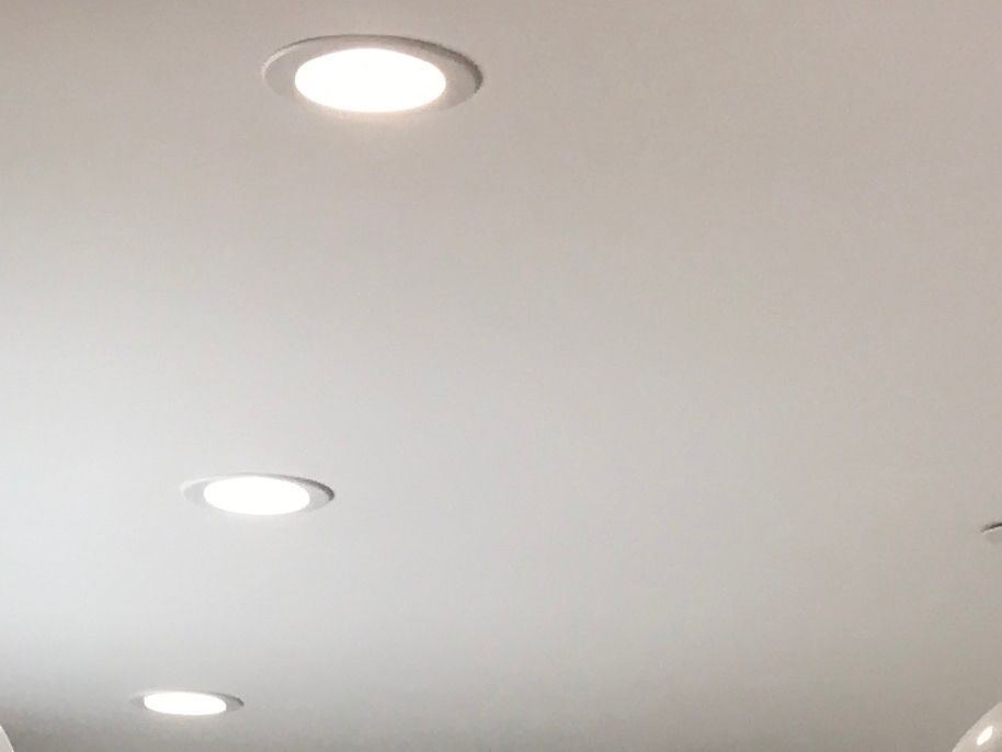 Small Recessed Led Ceiling Lights Throughout White Square Or Round Ledkitchenceilinglig Kitchen Ceiling Lights Ceiling Lights Recessed Lighting Living Room