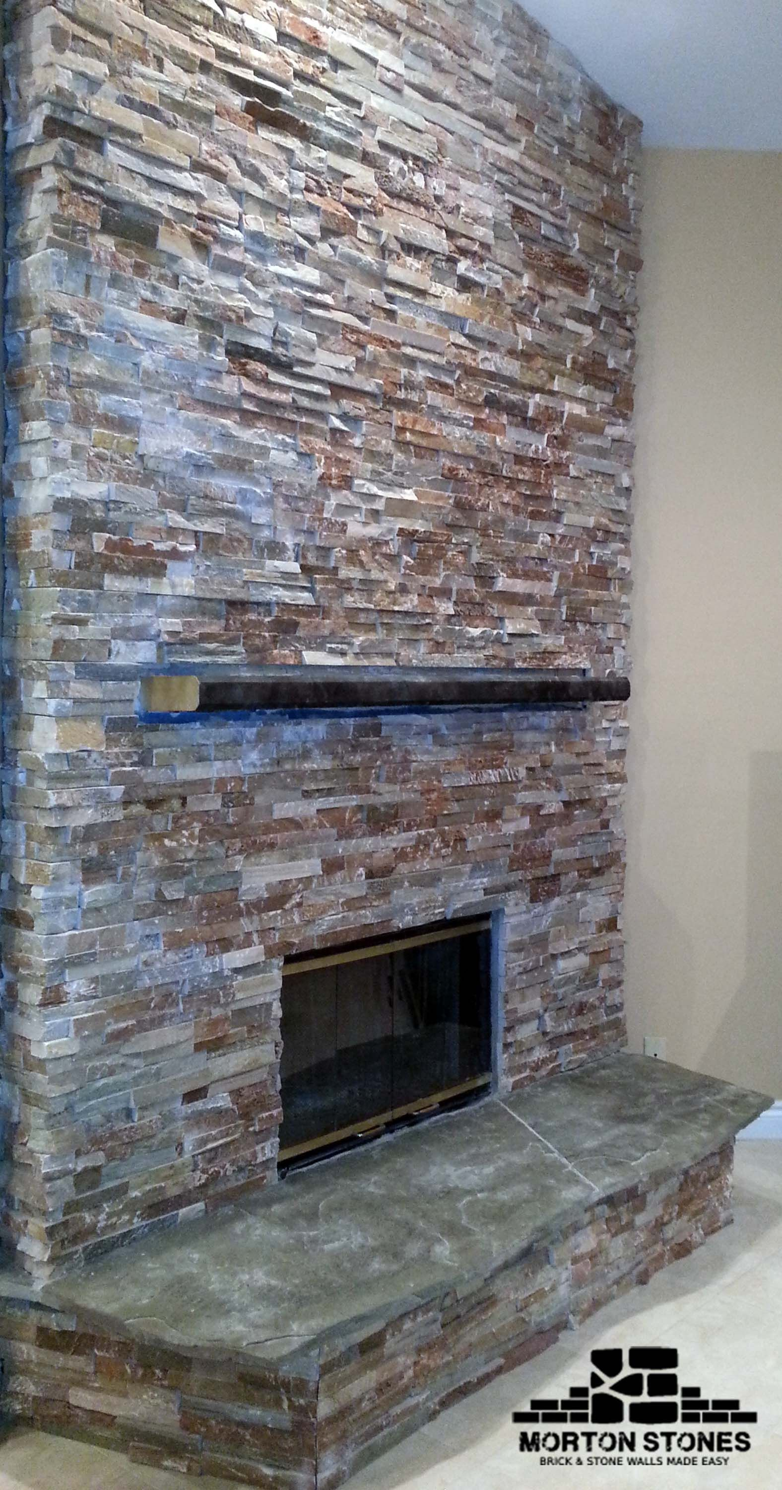 See More Ideas And Inspiration On Renovating Your Home Interior Mortonstones Brick Brickfireplace Fireplace Stone Veneer Fireplace Brick Veneer Fireplace