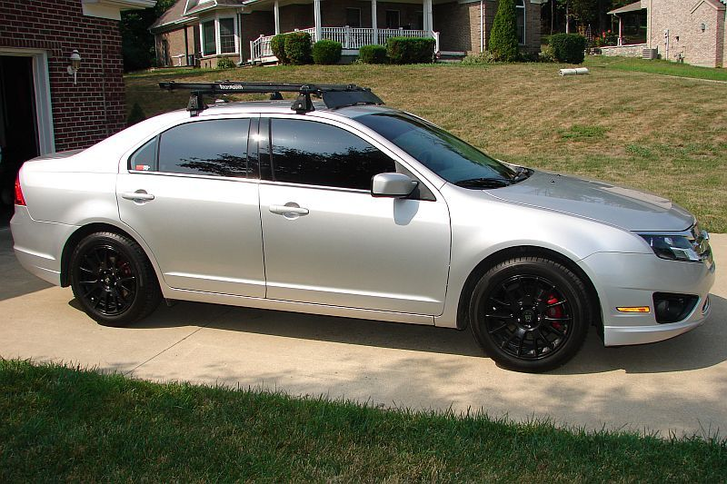 my 2010 ford fusion with black rims - 2010 Ford Fusion Custom Rims
