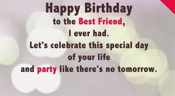 Best Friends Birthday Wishes Images