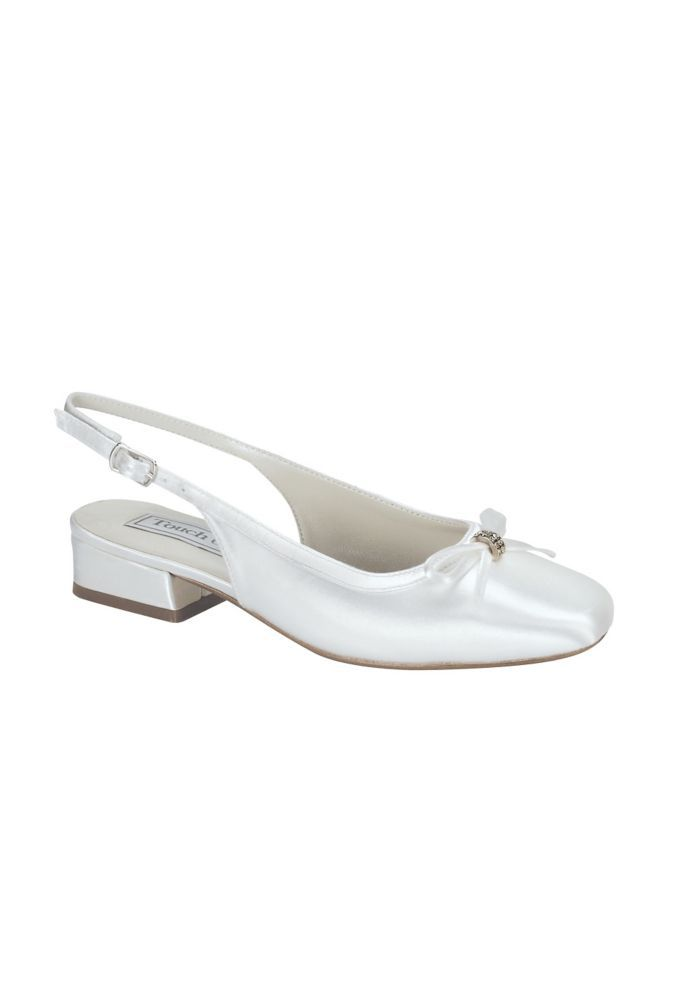 Rosie Slingback Flower Girl Shoes by Touch Ups Style ROSIE
